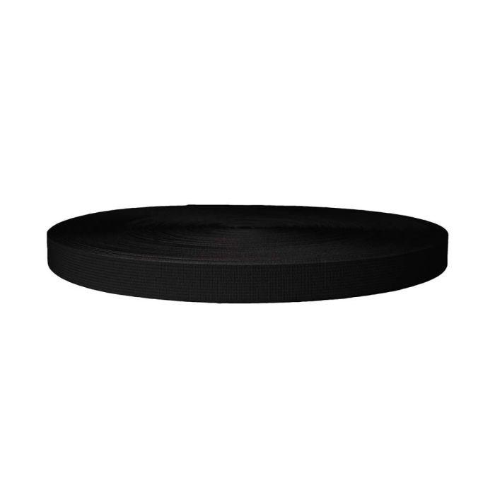 3/4 Inch Sublimated Elastic Black