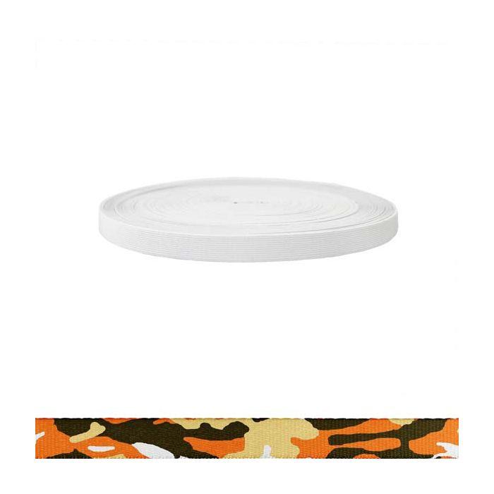 3/4 Inch Sublimated Elastic Camouflage Autumn