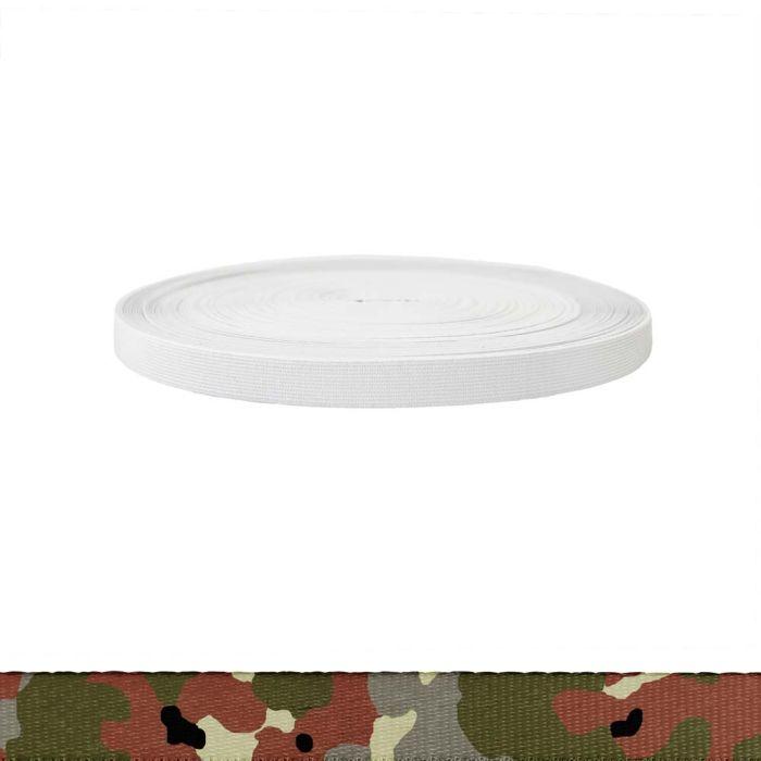 3/4 Inch Sublimated Elastic Camouflage Flecktarn