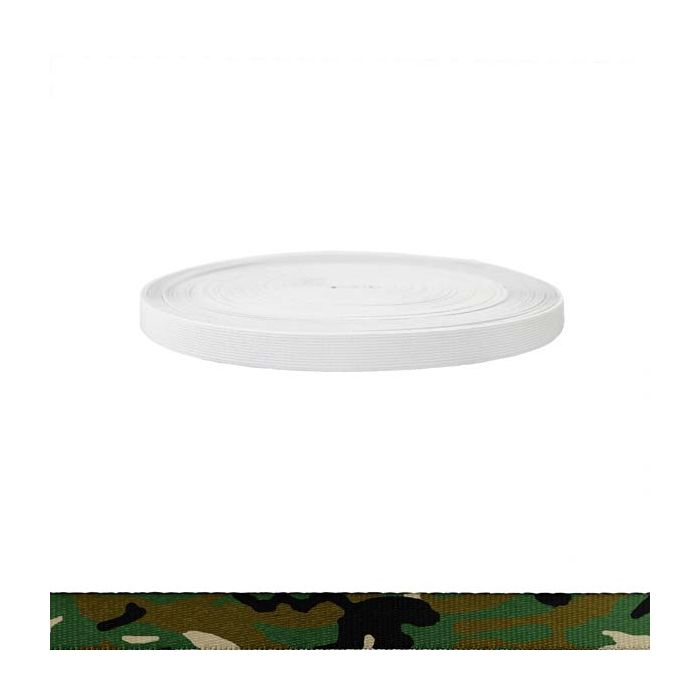 3/4 Inch Sublimated Elastic Camouflage Original