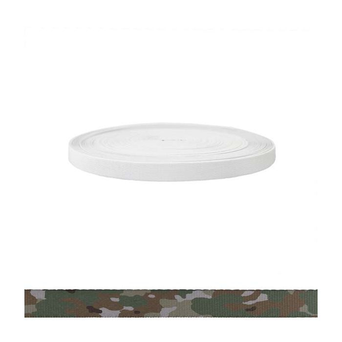 3/4 Inch Sublimated Elastic Camouflage Quadra