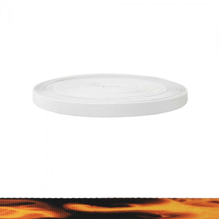 3/4 Inch Sublimated Elastic Fire