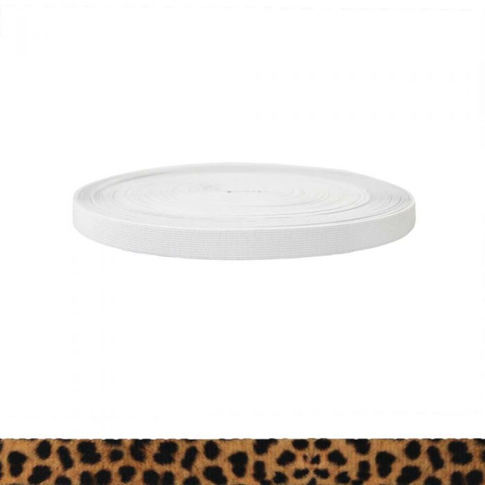 3/4 Inch Sublimated Elastic Leopard