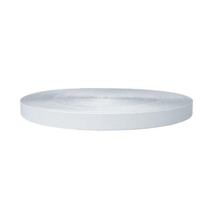 3/4 Inch Sublimated Elastic White