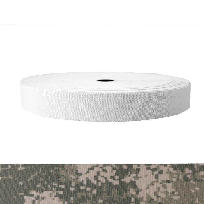 1-1/2 Inch Sublimated Elastic Camouflage Digital Grunt