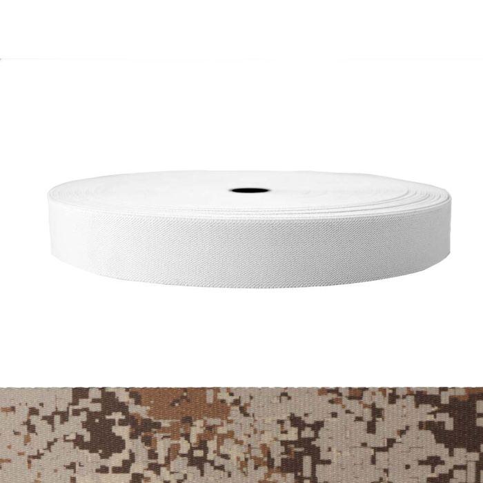 1-1/2 Inch Sublimated Elastic Camouflage Digital Desert