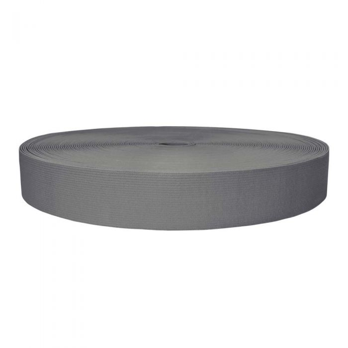 1-1/2 Inch Sublimated Elastic Gray