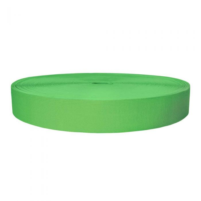 1-1/2 Inch Sublimated Elastic Lime Green