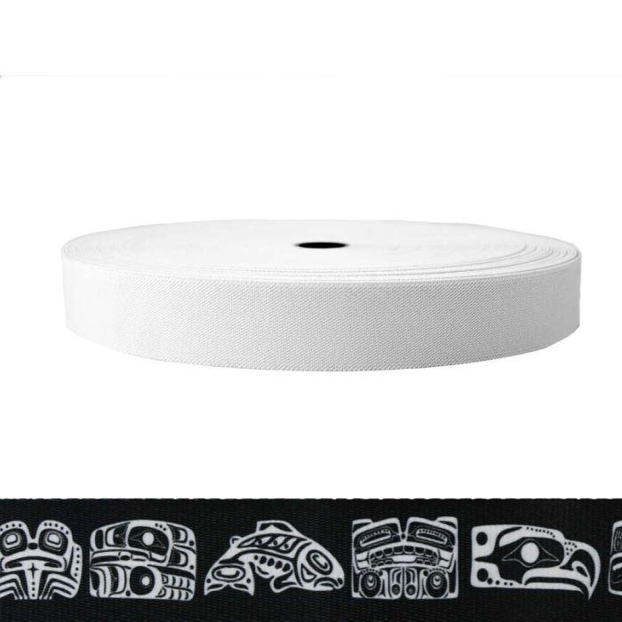 1-1/2 Inch Sublimated Elastic Northwest Totem