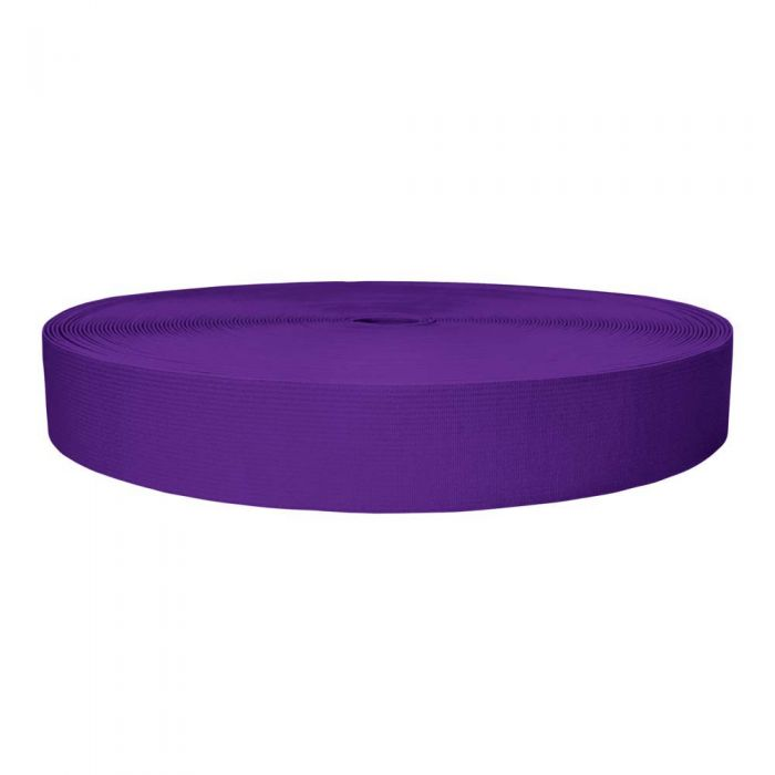 1-1/2 Inch Sublimated Elastic Purple
