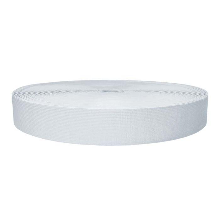1-1/2 Inch Sublimated Elastic White