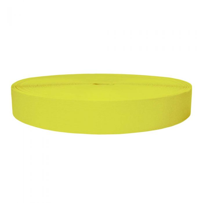 1-1/2 Inch Sublimated Elastic Yellow