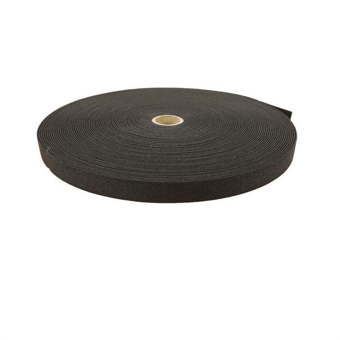 3/4 Inch Woven Elastic Black