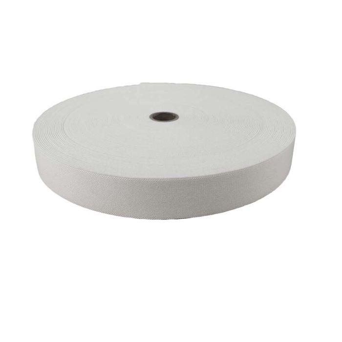 1-1/2 Inch Woven Elastic White