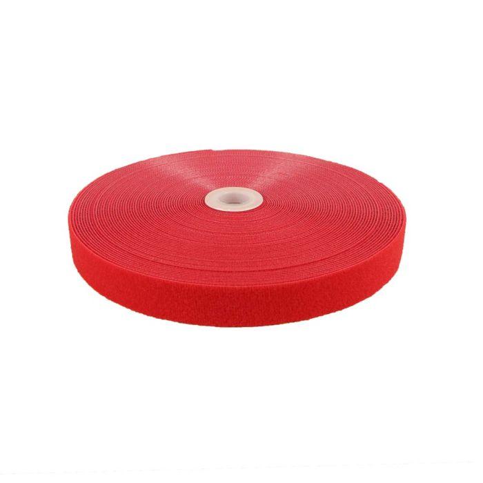 1 Inch Self Wrap Hook and Loop Red