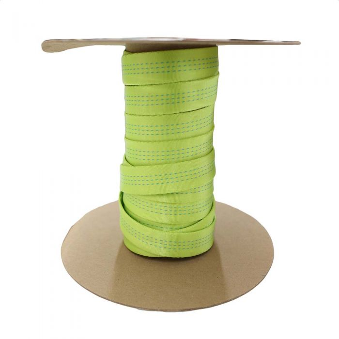 1 Inch Blue Water Tubular Lime Green