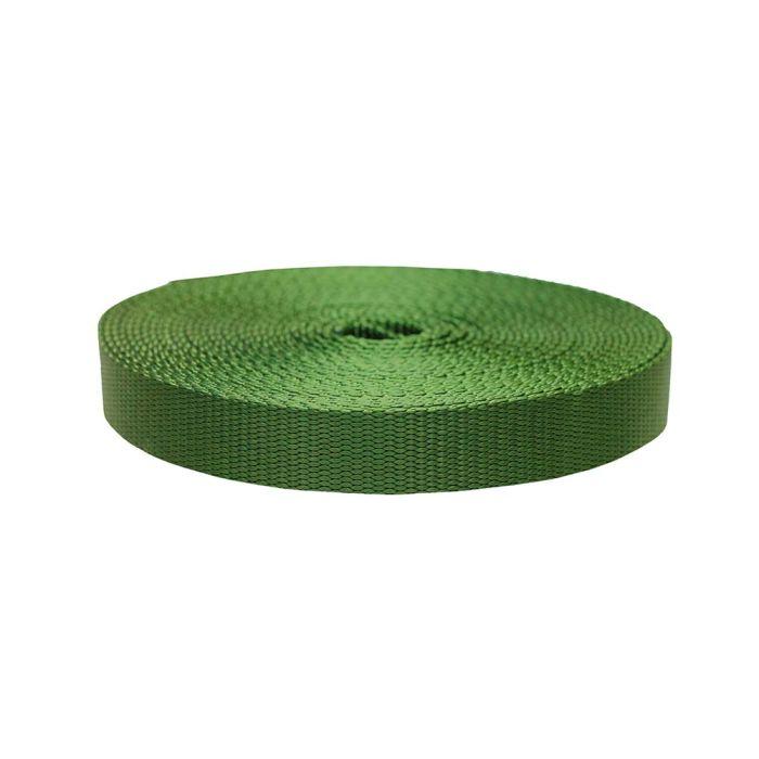 1 Inch Flat Nylon Olive Drab