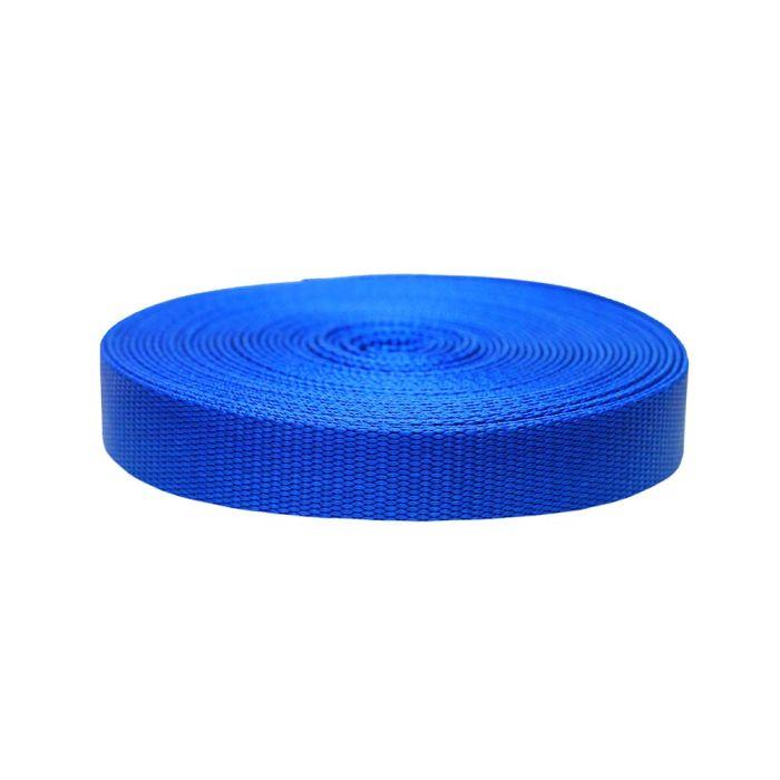 1 Inch Flat Nylon Pacific Blue