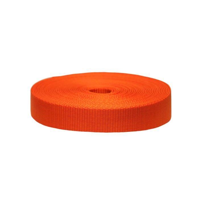 1 Inch Flat Nylon Pumpkin