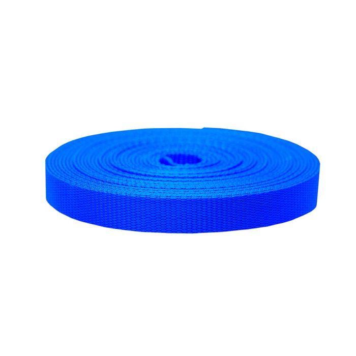 1 Inch Flat Nylon Royal Blue