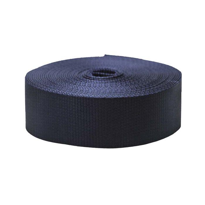 2 Inch Flat Nylon Navy Blue