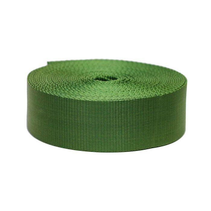 2 Inch Flat Nylon Olive Drab