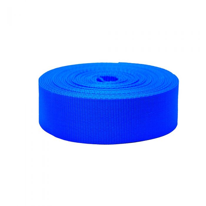 2 Inch Flat Nylon Royal Blue
