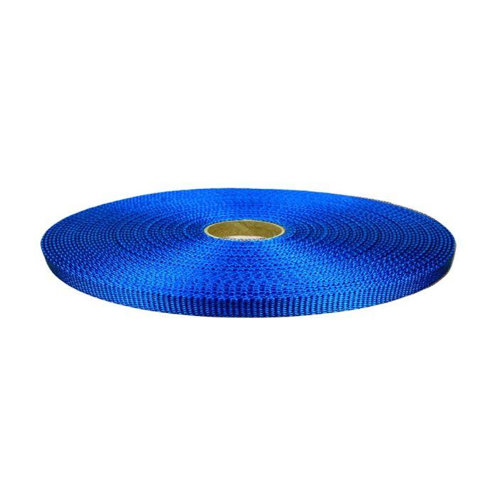 1/2 Inch Flat Nylon Pacific Blue