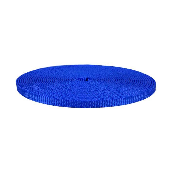 1/2 Inch Flat Nylon Royal Blue