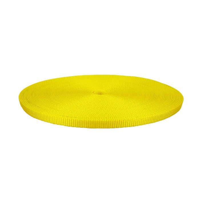 1/2 Inch Flat Nylon Yellow