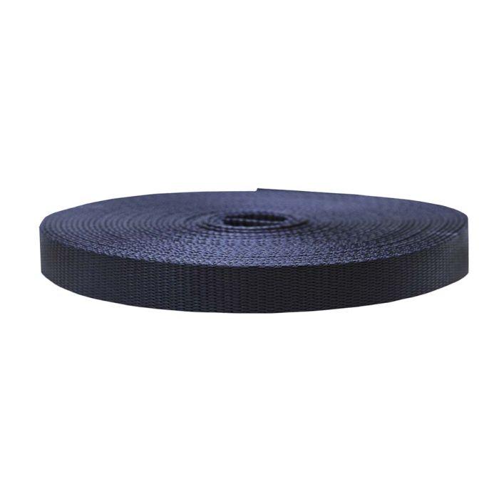 3/4 Inch Flat Nylon Navy Blue