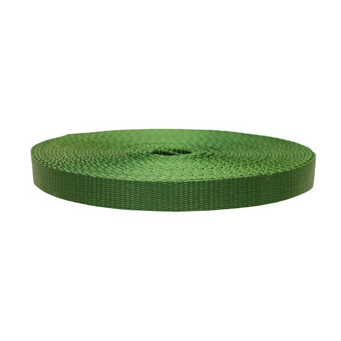 3/4 Inch Flat Nylon Olive Drab