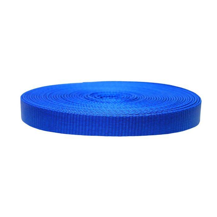 3/4 Inch Flat Nylon Pacific Blue