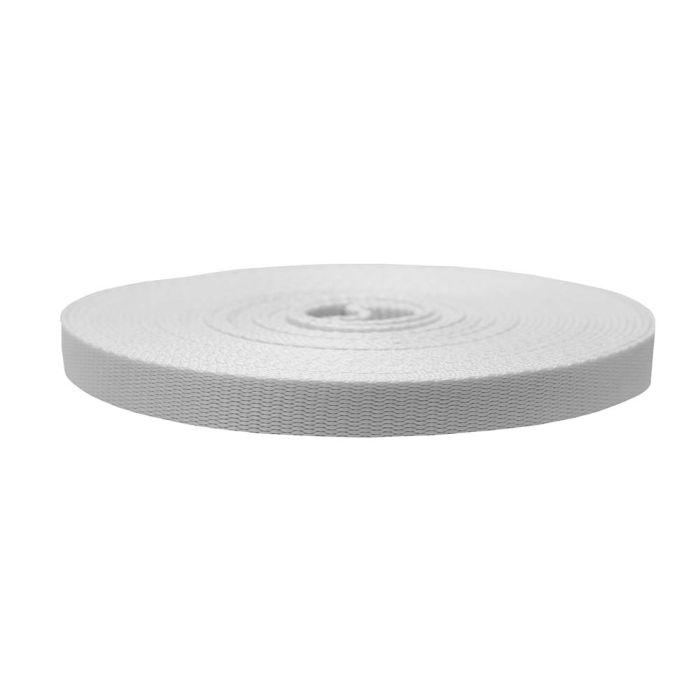 3/4 Inch Flat Nylon White