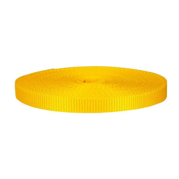3/4 Inch Flat Nylon Yellow