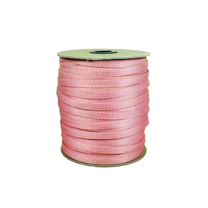 3/8 Inch Flat Nylon Pink