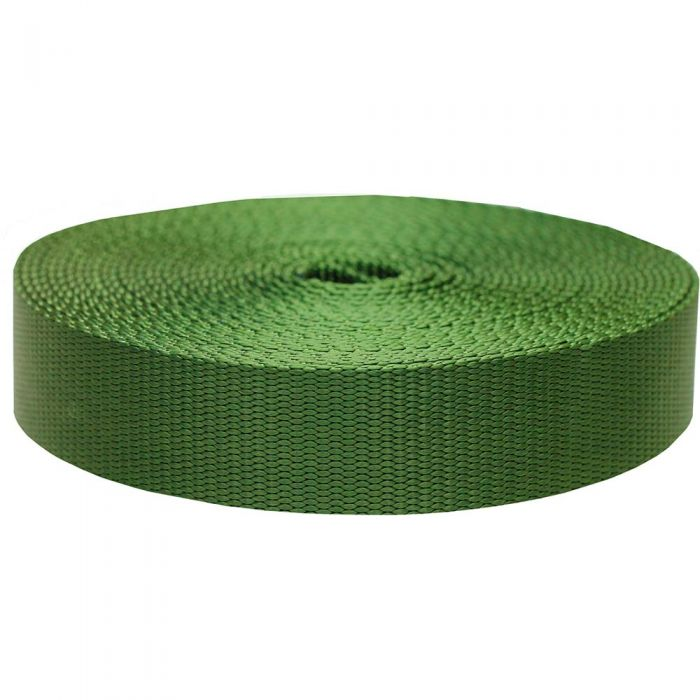 1-1/2 Inch Flat Nylon Olive Drab