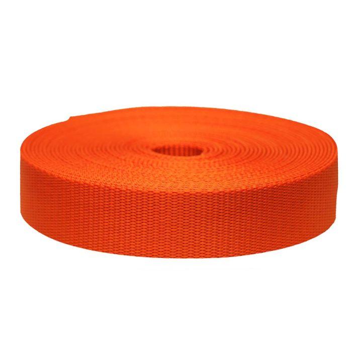1-1/2 Inch Flat Nylon Pumpkin