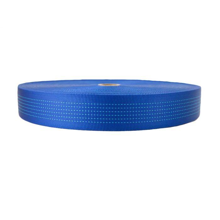 2 Inch Tubular Nylon Blue