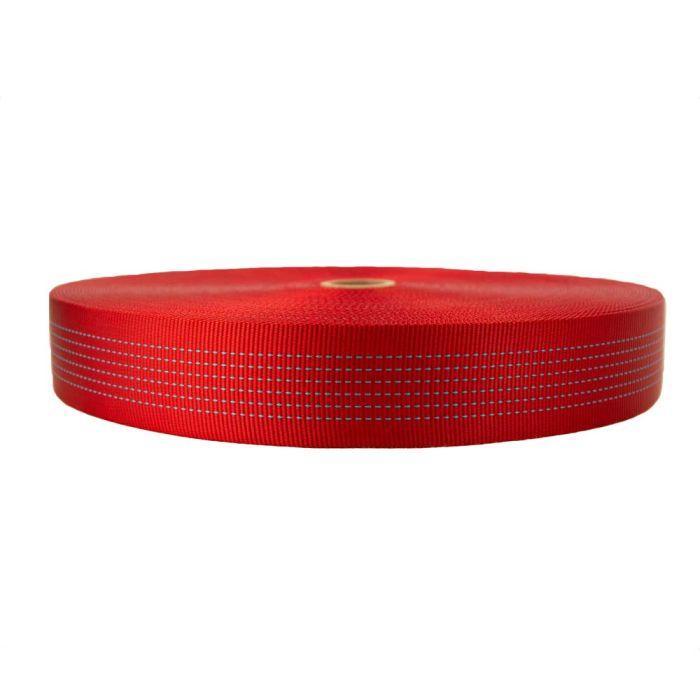 2 Inch Tubular Nylon Red