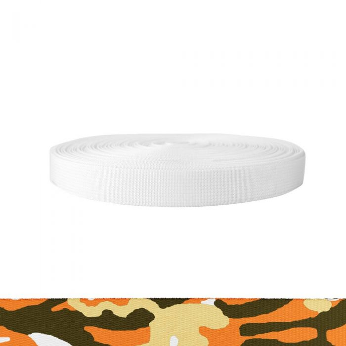 1 Inch Mil-Spec 17337 Polyester Camouflage Autumn