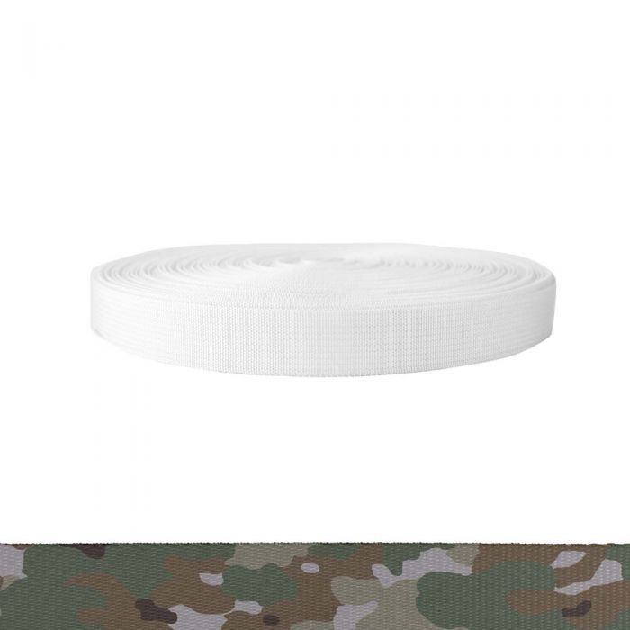 1 Inch Mil-Spec 17337 Polyester Camouflage Quadra