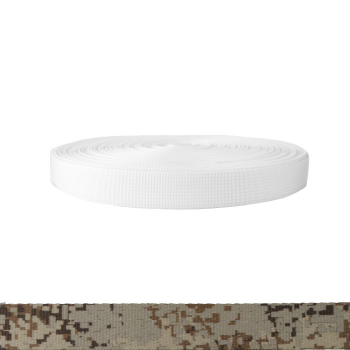 1 Inch Mil-Spec 17337 Polyester Camouflage Digital Desert