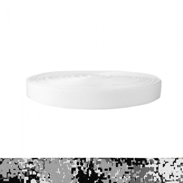 1 Inch Mil-Spec 17337 Polyester Camouflage Digital Winter