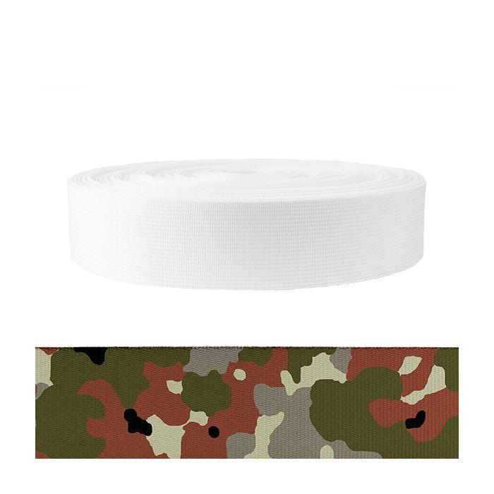2 Inch Mil-Spec 17337 Polyester Camouflage Flecktarn