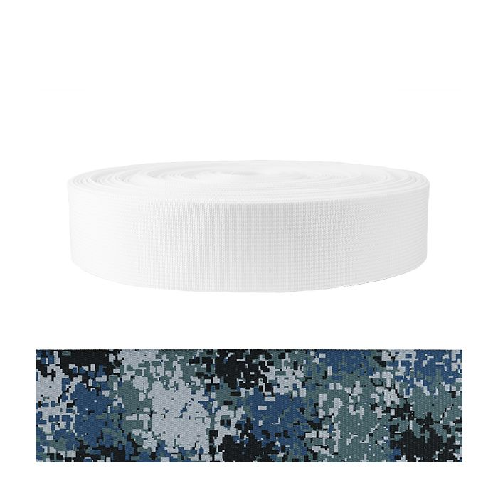 2 Inch Mil-Spec 17337 Polyester Camouflage Digital Blue