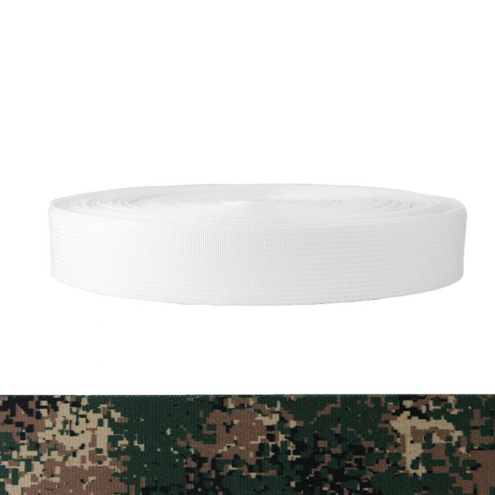 1-1/2 Inch Mil-Spec 17337 Polyester Camouflage Jarhead