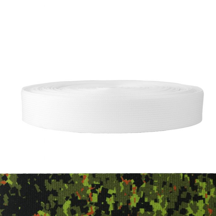1-1/2 Inch Mil-Spec 17337 Polyester Camouflage Digital Jungle
