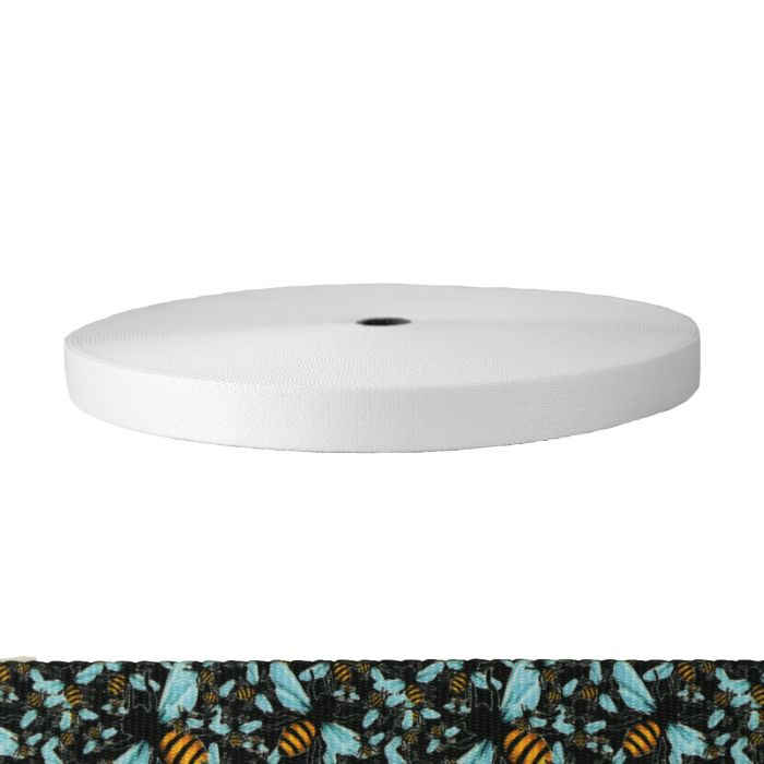 1 Inch Picture Quality Polyester Webbing Bees