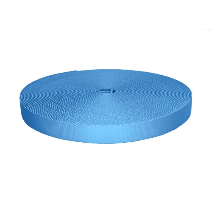 1 Inch Picture Quality Polyester Webbing Blue